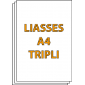 Liasses autocopiantes A4 Triplicata