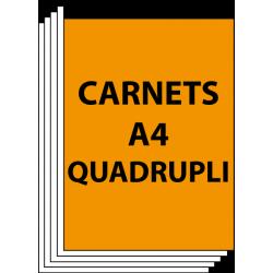 Carnets A4 Quadruplicata