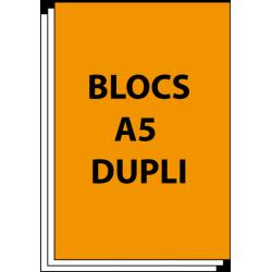 Bloc autocopiant A5 Duplicata 50