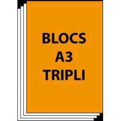 Blocs A3 Triplicata 50