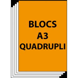 Blocs A3 Quadruplicata 50